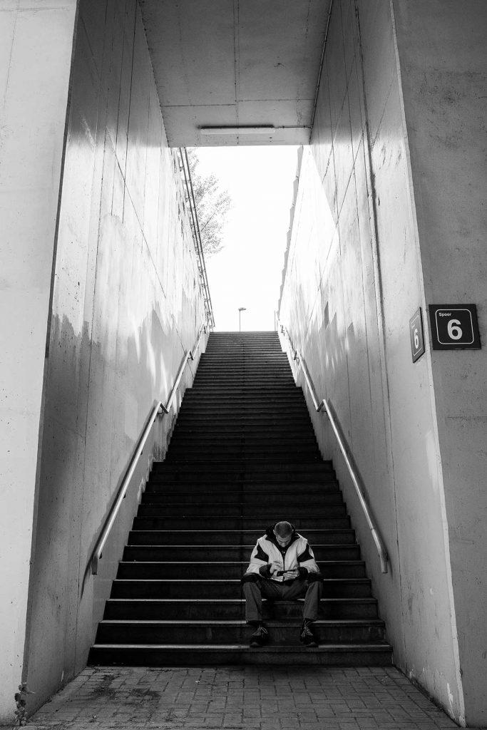 Straatfotografie Station