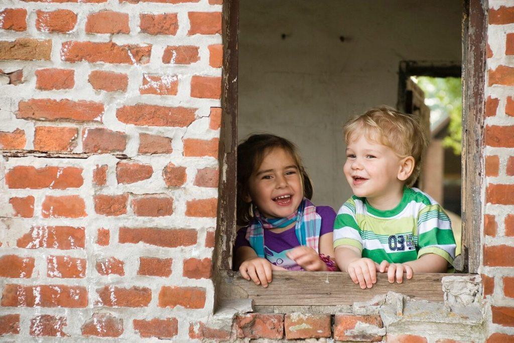 fotoshoot kinderen - wouter en yamina
